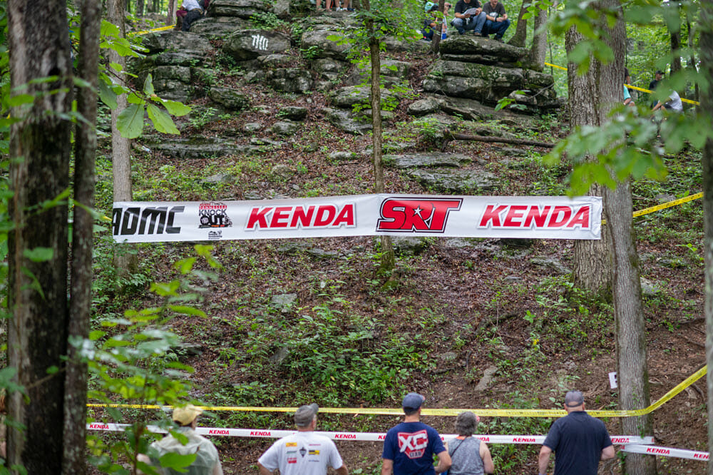 The Trials Training Center provides some epic terrain for an Extreme Enduro and much of it is easily accessed for viewing. Photo: Darrin Chapman.