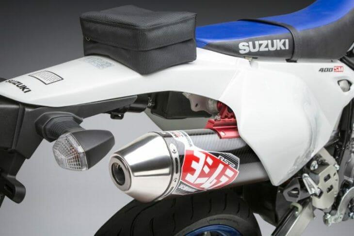 Yoshimura updates Suzuki DR-Z400 S/SM Exhaust to fit 2000-2019 models