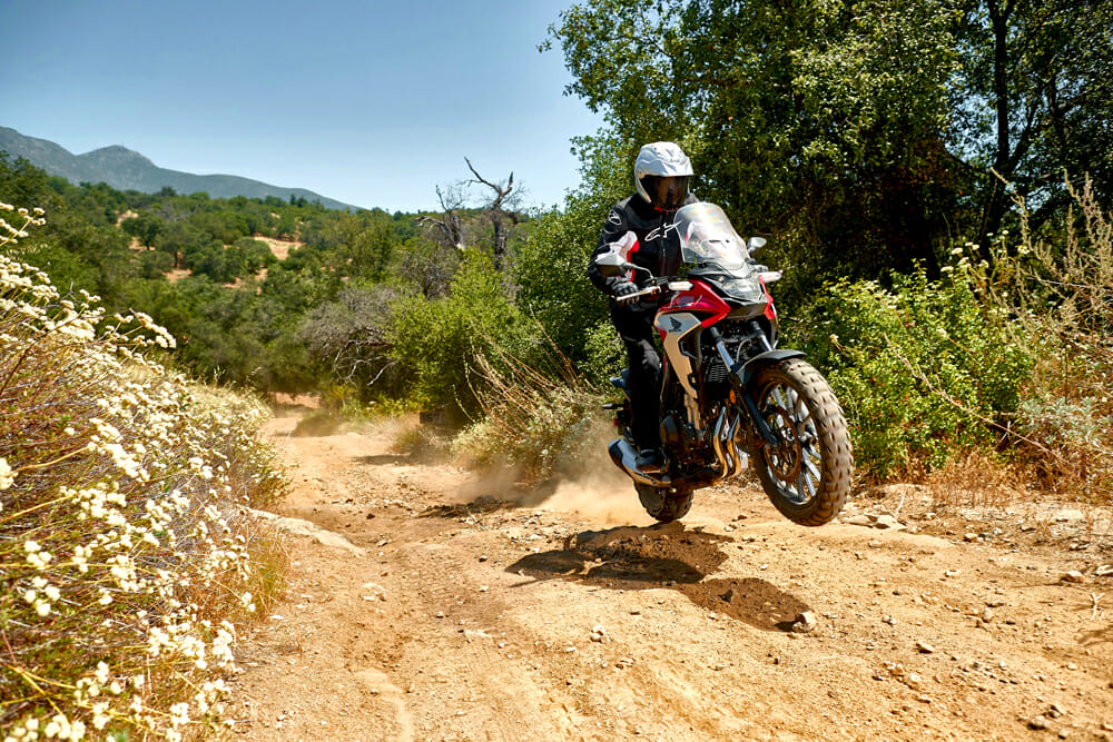 The 2019 Honda CB500X has more prowess off the road than you'd imagine.