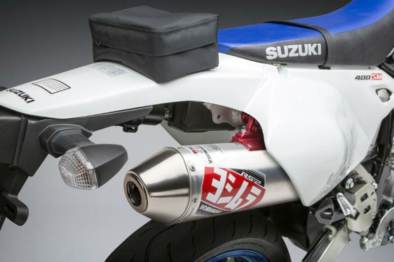 Yoshimura updates Suzuki DR-Z400 S/SM Exhaust to fit 2000-2019 models