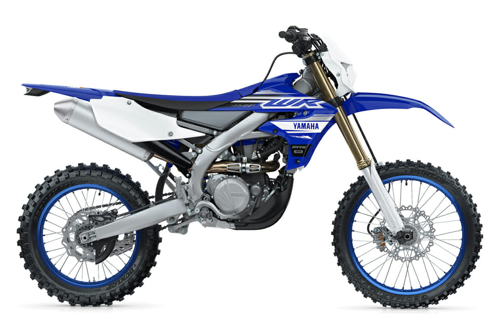 2019 Yamaha WR450F Specifications