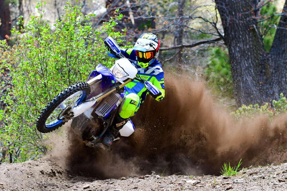 The 2019 Yamaha WR450F has tons of usable power.