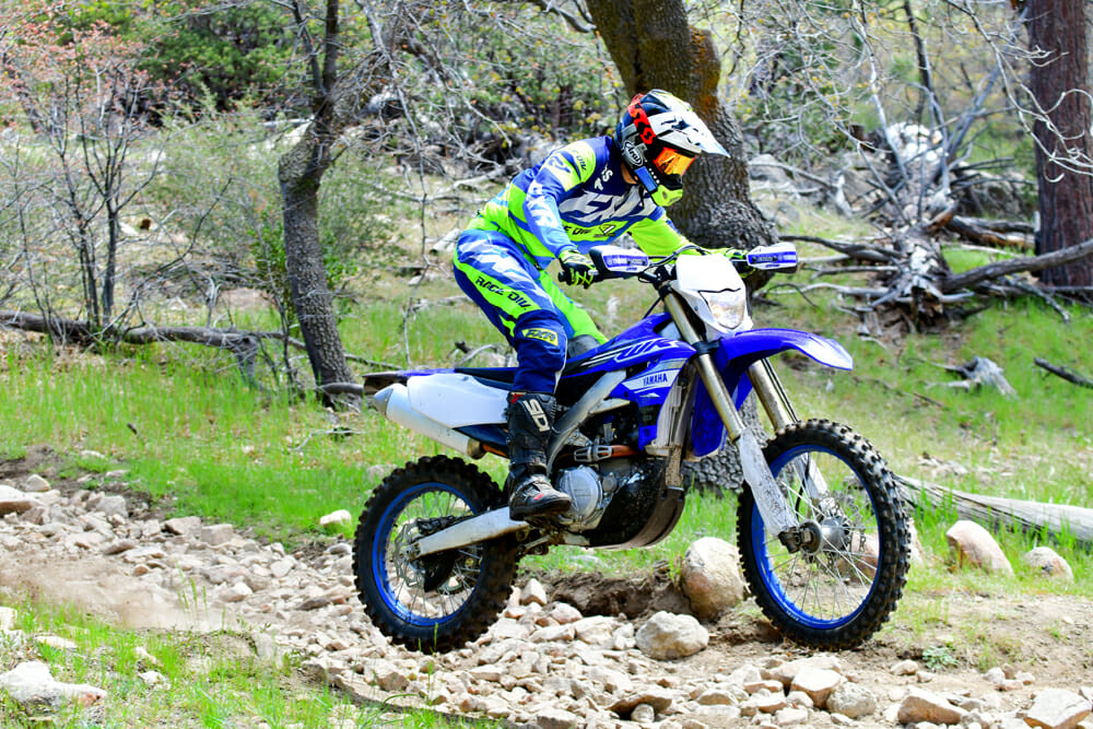 Yamaha's all-new WR450F is finally here, and it has received a significant overhaul. Read more in our 2019 Yamaha WR450F Review.