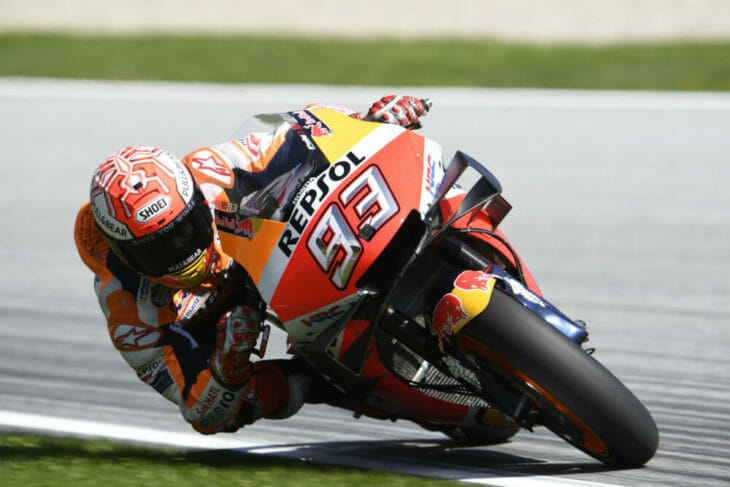 2019 Austrian MotoGP Results and News Marc Marquez Friday
