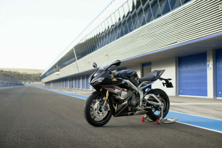 Triumph Daytona Moto2 765 Limited Edition First Look 1