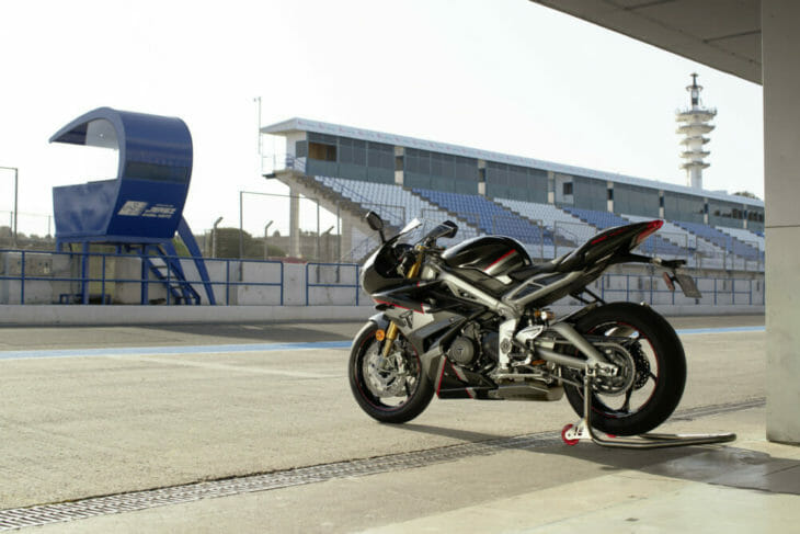 Triumph Daytona Moto2 765 Limited Edition First Look 5