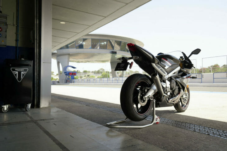 Triumph Daytona Moto2 765 Limited Edition First Look 3