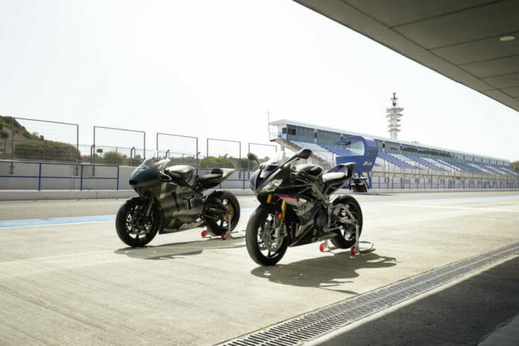 Triumph Daytona Moto2 765 Limited Edition First Look 2