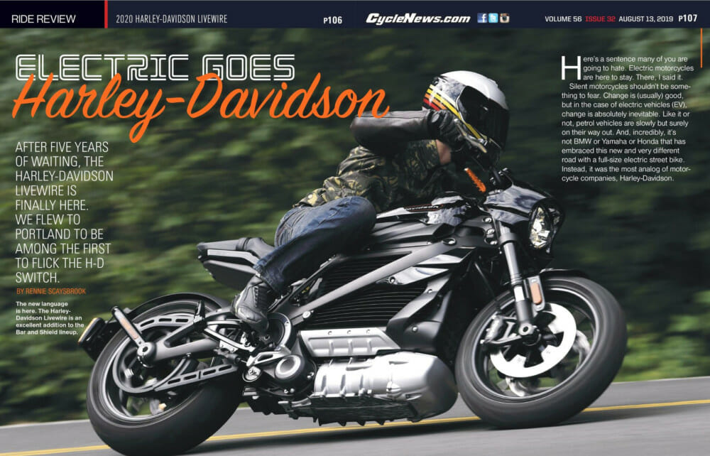 2020 Harley-Davidson LiveWire Review: After five years of waiting, the 2020 Harley-Davidson LiveWire is finally here. 2020 Harley-Davidson LiveWire review | We flew to Portland to be among the first to flick the H-D switch