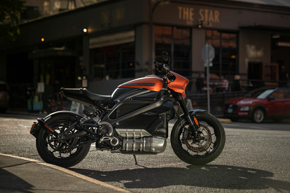 2020 Harley-Davidson LiveWire specifications