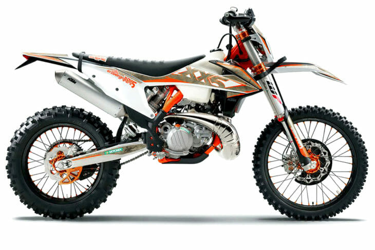 The new 300 XC-W TPI Erzbergrodeo is tuned to take on the famous extreme off-road race. It even comes with pull straps.