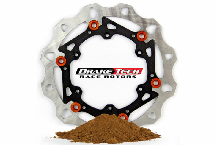 BrakeTech has brake pads made for Supercross-style riding.