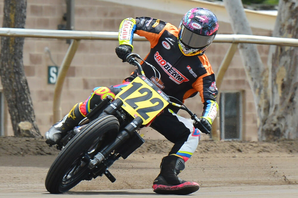 Dalton Gauthier Delivers Harley-Davidson XG750R'S First Race Win at Sacramento Mile