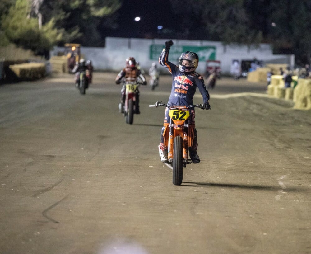 Shayna Texter Gives Red Bull KTM its First-Ever Mile Win in Sacramento