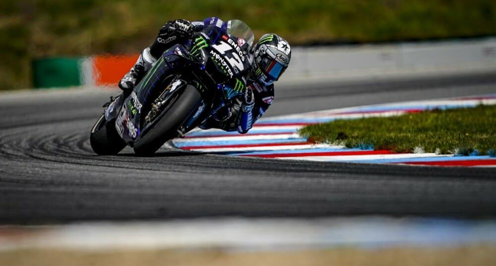 Monster Energy Yamaha MotoGP Team's Maverick Viñales and Valentino Rossi returned to the scene of yesterday's Monster Energy Grand Prix České republiky for a one-day Official IRTA test.