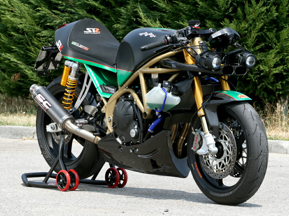 The Paton S1-R uses a plethora of exotic Italian aftermarket goods to make the final machine.
