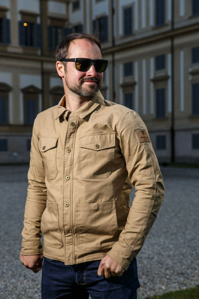 The REV'IT Overshirt Worker jacket is a basic, simple jacket that is far more than the sum of its parts.