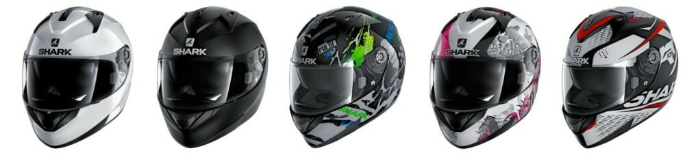 Shark Helmets introduces new model to the North American market.