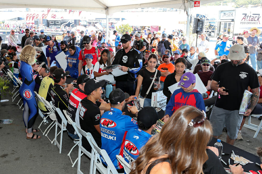 Fan engagement is growing round by round, as was evidenced at the WorldSBK round.