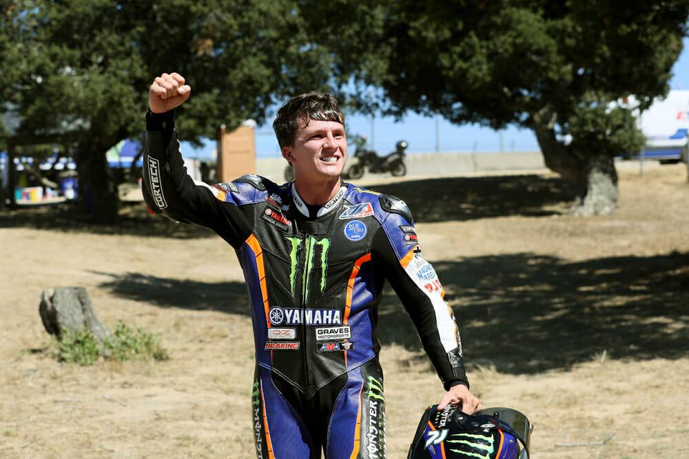Garrett Gerloff finally broke through for his first MotoAmerica Superbike win at Laguna Seca, marking a new name at the top for MotoAmerica.