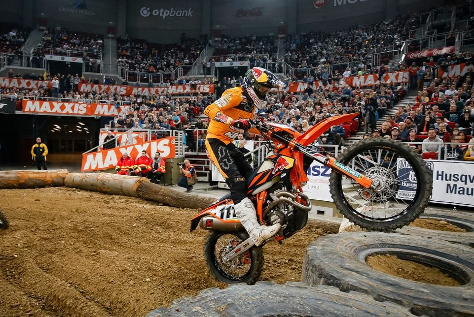 Taddy Blazusiak will be back to try to earn a sixth EnduroCross championship in 2019. He won his last US title in 2013.