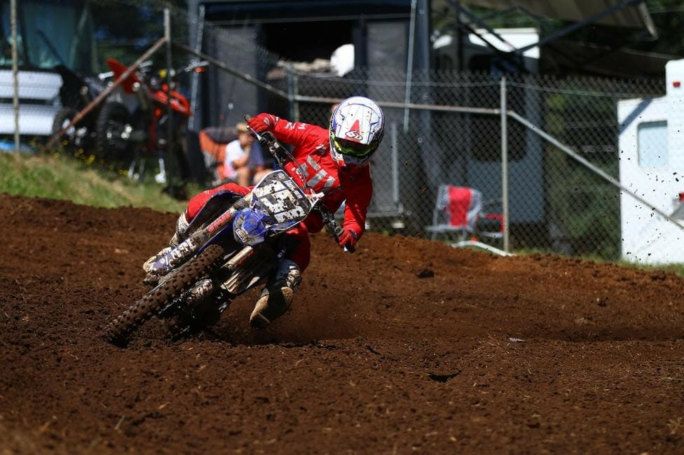 Yamaha-mounted Trevor Hosman finished 5th in the 250 Pro Am class after posting a 4-5 moto finish.