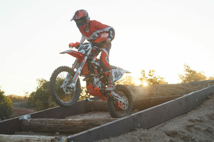 The FMF / RPM / KTM Racing team Maxxis team that includes 2017 series runner up Trystan Hart, utilizes Seat Concepts seats. Photo: Drew Ruiz