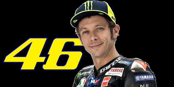 Valentino Rossi Monster Energy Yamaha MotoGP Rider