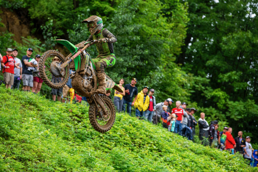 Monster Energy®/Pro Circuit/Kawasaki Celebrates 50th Anniversary of Unadilla MX with Podium Finish