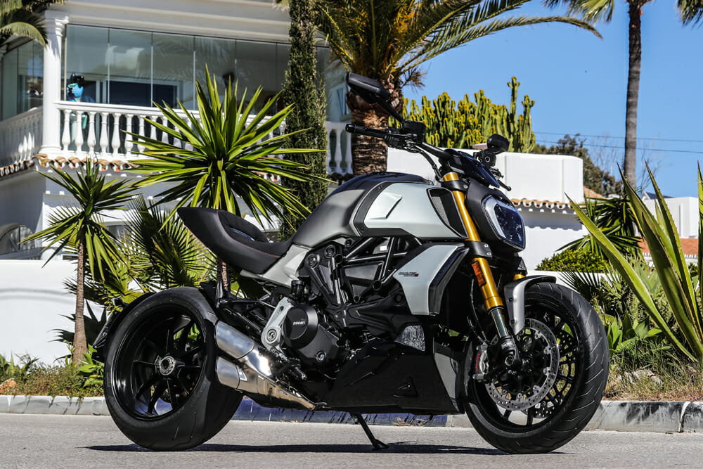 2019 Ducati Diavel 1260 S Specifications