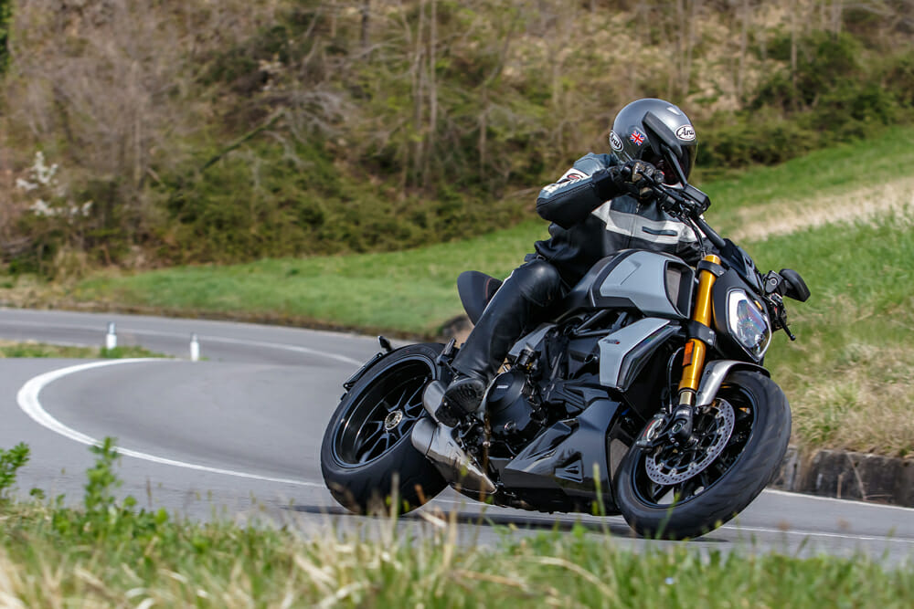 The 2019 Ducati Diavel 1260 S is even more muscular than before, but it's also more refined.
