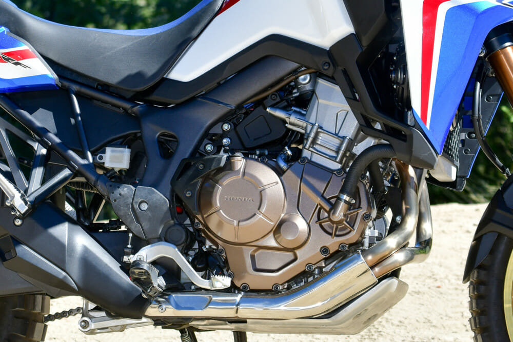 2019 Honda CRF1000L Africa Twin engine