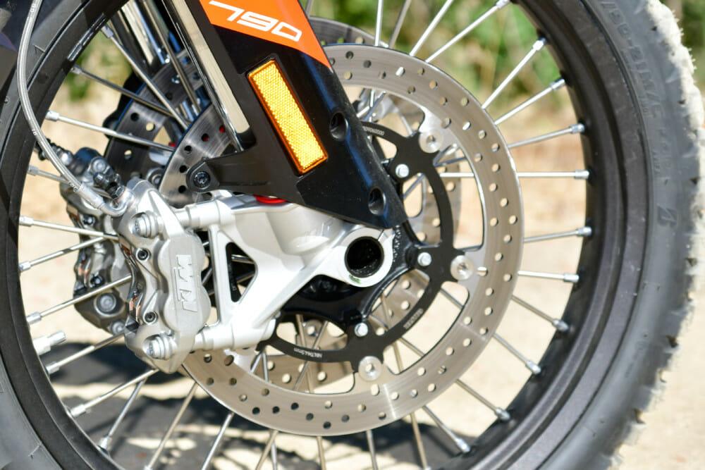2019 KTM 790 Adventure R front brake