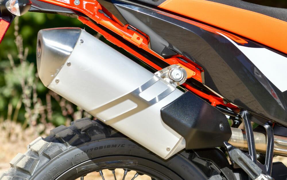 2019 KTM 790 Adventure R muffler