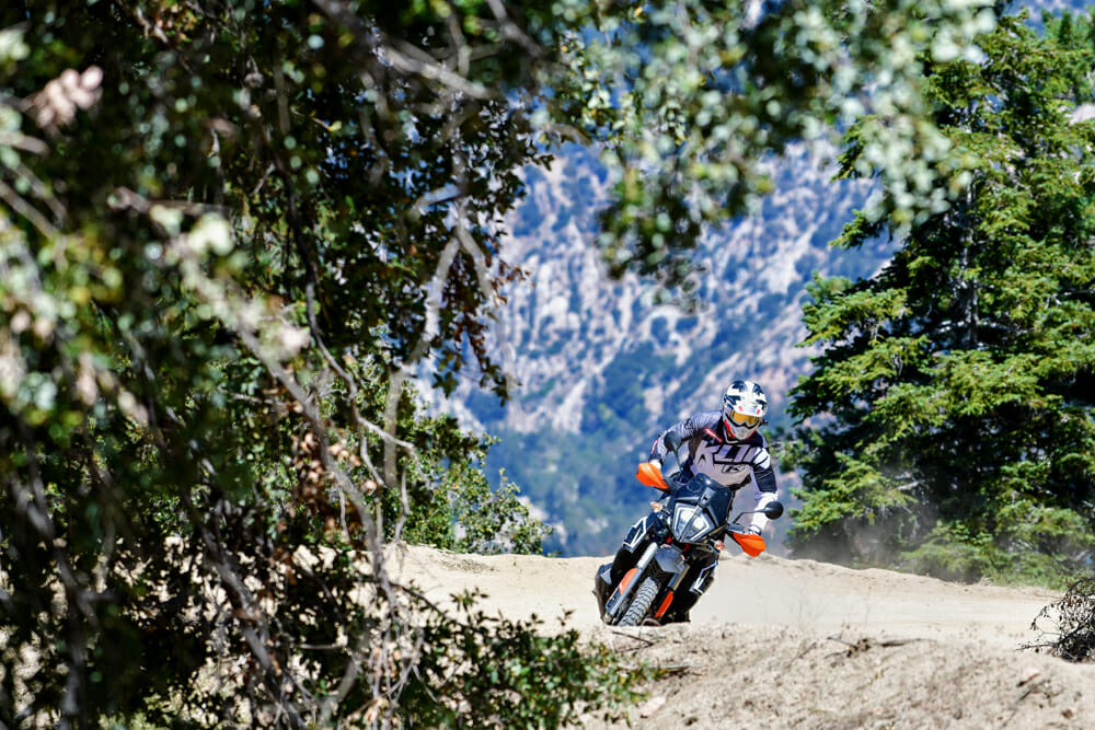 KTM's finally created a modern version of the legendary 950 Adventure with the new KTM 790 Adventure R.