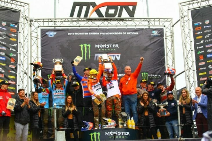 2019 Motocross Of Nations Results