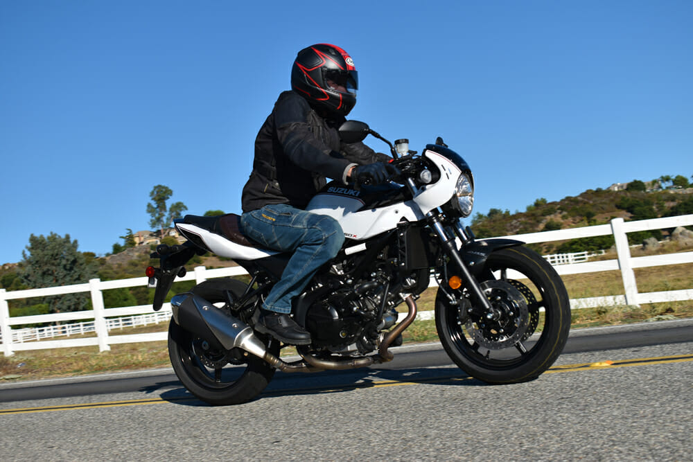 2019 Suzuki SV650X Review | For 2019, Suzuki introduced a Café-inspired version dubbed the SV650X, and the bike continues as a 2020 model.