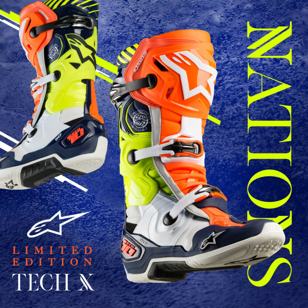 Alpinestars Limited Edition Nations 19 Tech 10 Boot