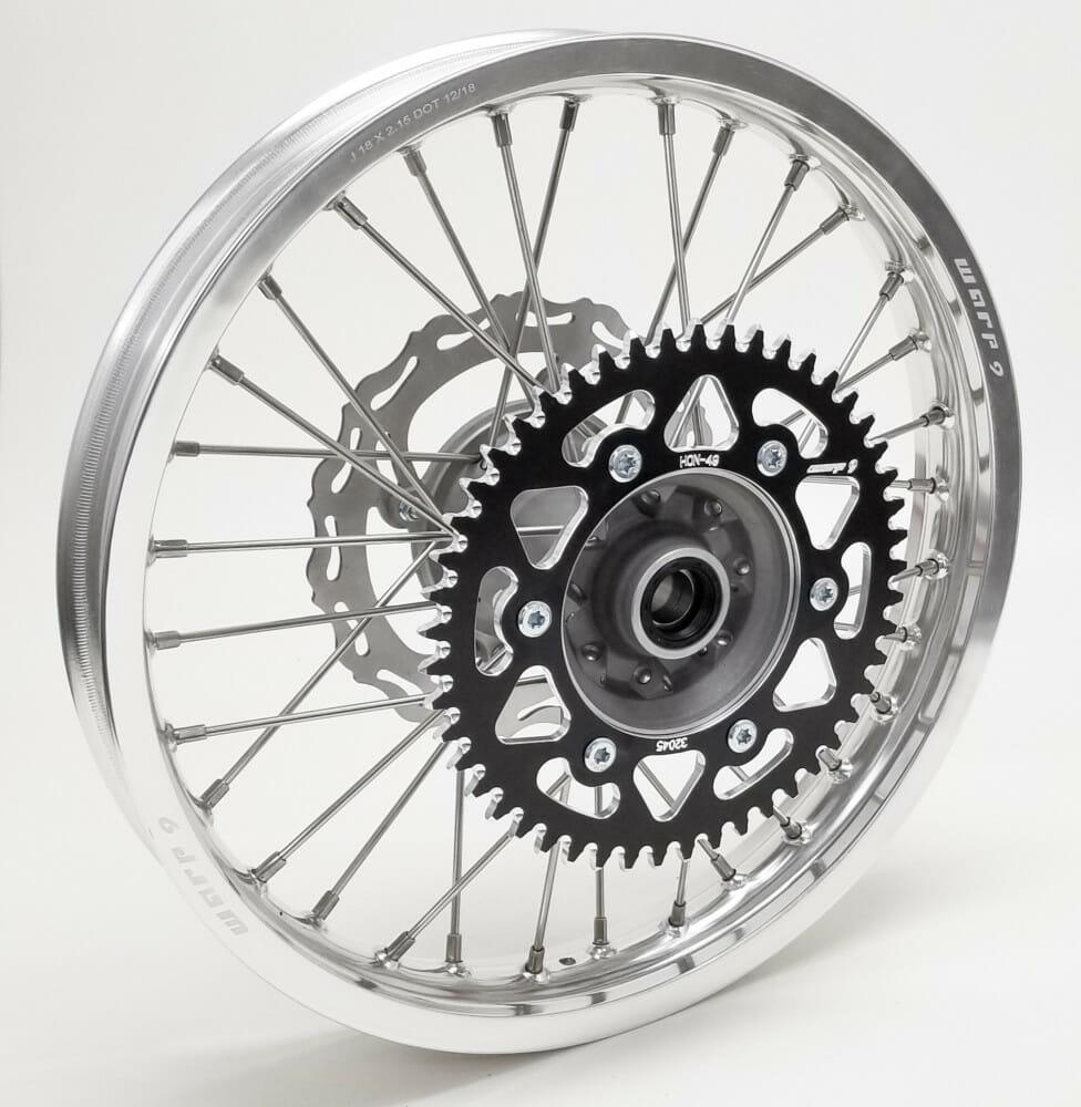 Warp 9 Racing Honda Rear Wheels