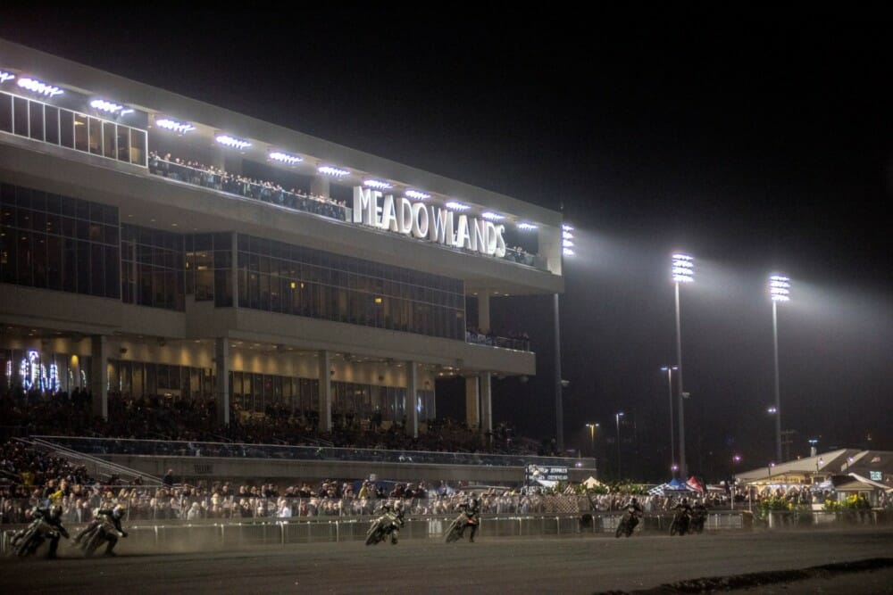 American Flat Track heads to Meadowlands Mile in East Rutherford, New Jersey, on Saturday, September 28