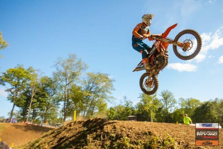 Benny Bloss of Team Rocky Mountain ATV MC KTM WPS