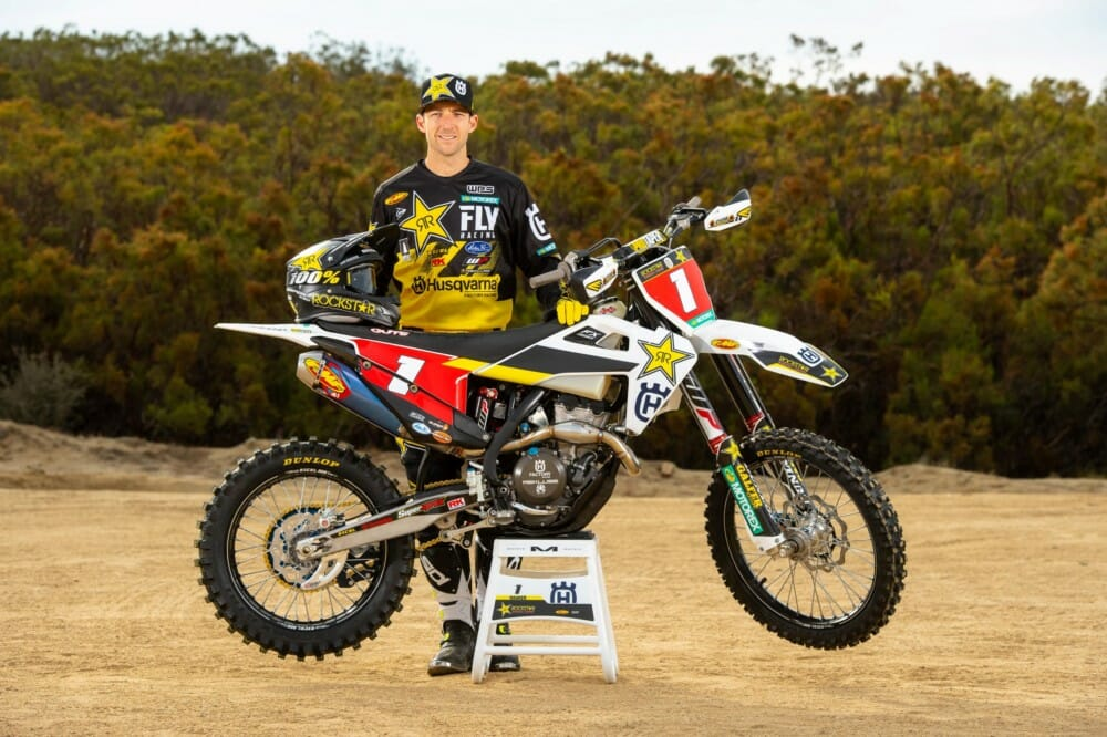 Husqvarna Motorcycles are pleased to announce that Colton Haaker has signed a two-year contract extension with Rockstar Energy Husqvarna Factory Racing, with the 29-year-old set to remain with the team through to the end of the 2021 season.