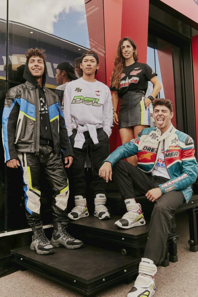 Diesel's Fall/Winter 2019 includes Alpinestars-branded apparel