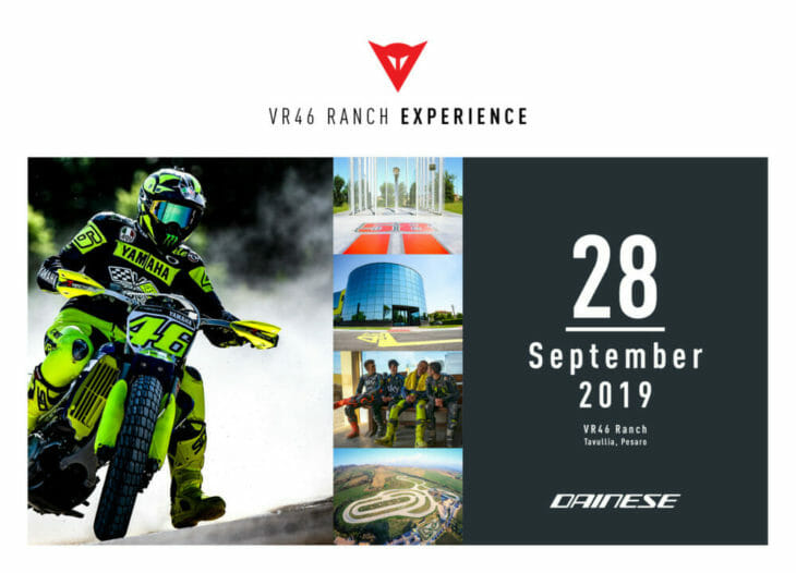 Dainese VR46 Ranch Experience