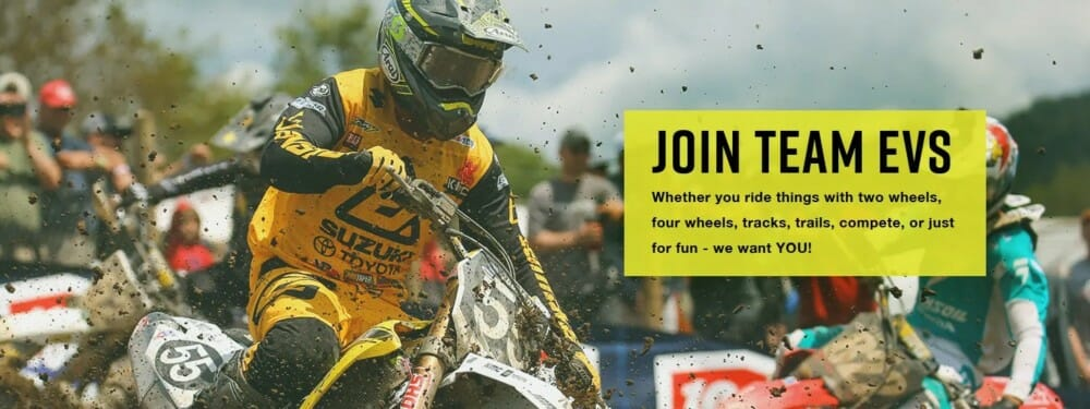 EVS Sports Now Accepting Resumes for Sponsored Riders