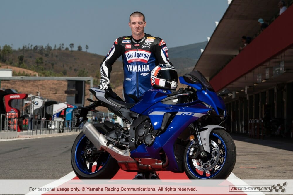 Yamaha welcomes the former FIM Superbike World Champion as a special guest for this weekend's WorldSBK round at the Autódromo Internacional do Algarve in Portimão, Portugal.