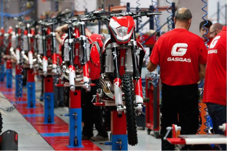 KTM Buys GasGas