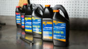 New Fire Power lineup of Racing Motor Oils includes full synthetic oils fortified with racing ester to withstand extreme heat and high rpm