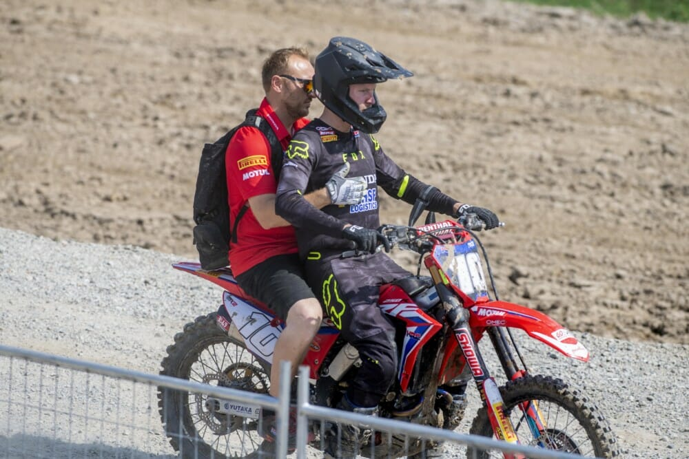Multi-National Team HRC Prepares for the Motocross of Nations