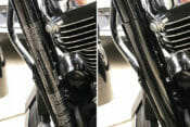 Invisi-VIN: Conceal and protect Harley VIN sticker magnetically.